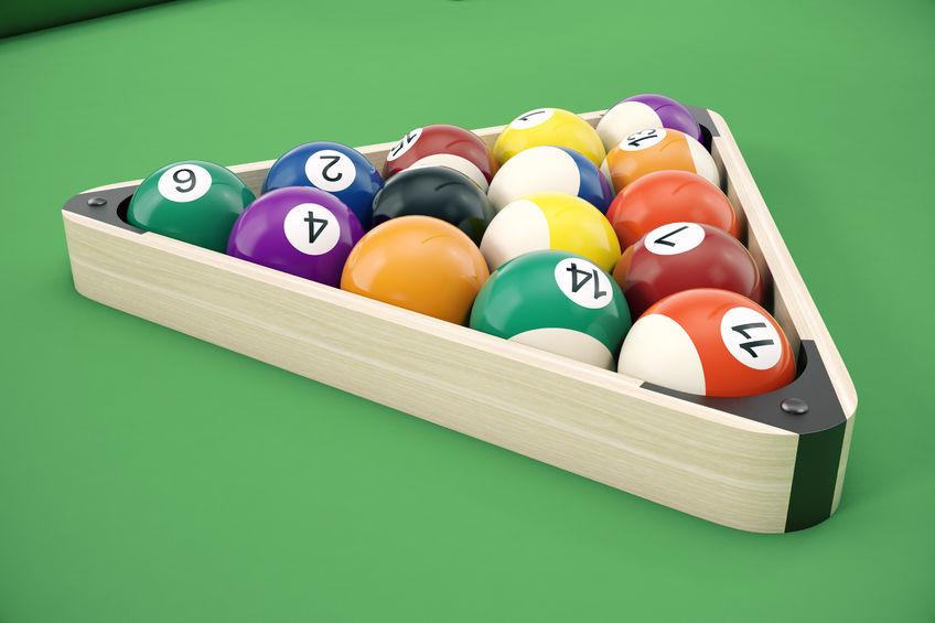 Pool Balls, Racks, & Accessories at Emerald Spa and Billiards of Grand Rapids MI