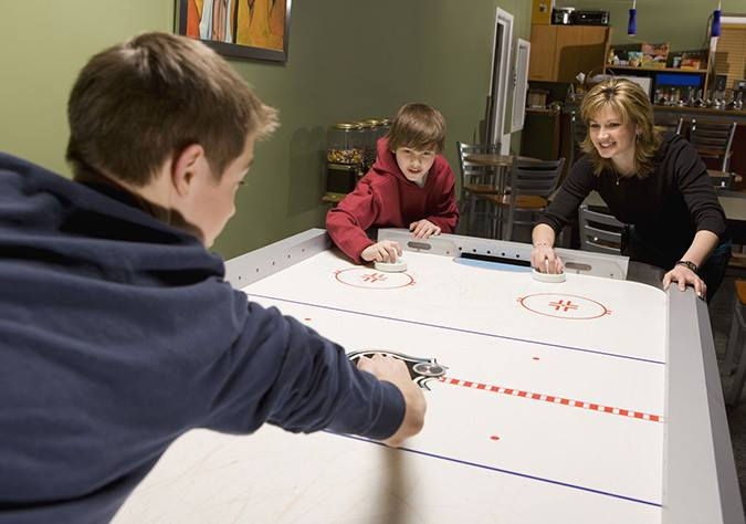 Air Hockey Tables on Display in Grand Rapids, MI - Emerald Spa and Billiards