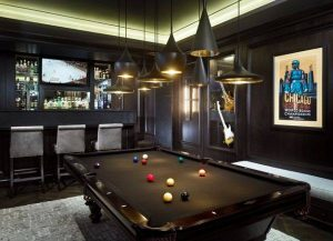 Man Cave Pool Tables at Emerald Spa and Billiards of Grand Rapids MI