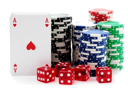 Game Rooms in Grand Rapids from Emerald feature poker tables, decks, chips, and more - EmeraldLeisureSource.com