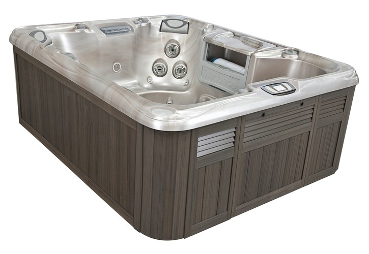 Sundance Spas Marin Model 880 Series Hot Tub in Grand Rapids at Emerald Spa and Billiards