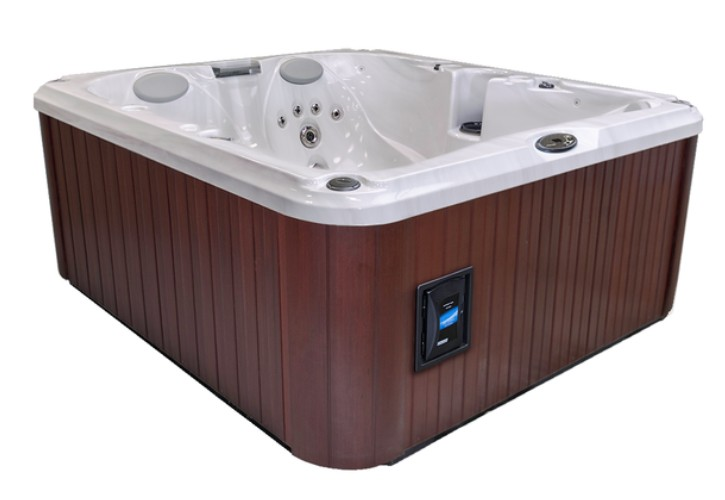 Sundance Spas Prado Model 680 Series Hot Tub at Emerald Spa and Billiards of Grand Rapids MI