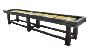 Taos Shuffleboard Table by Olhausen from Grand Rapids' Emerald Spa and Billiards