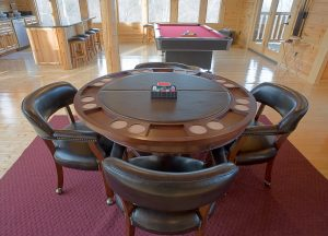 Game Rooms in Grand Rapids from Emerald feature shuffleboard, foosball, darts, poker tables and more - EmeraldLeisureSource.com