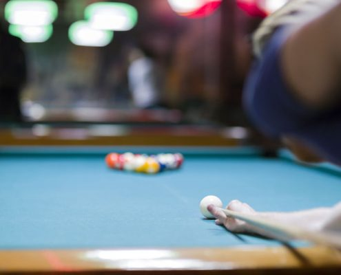 How to improve your break shot in pool - Emerald Spa and Billiards