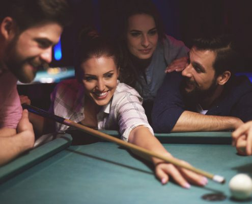 Quick Tips to Improve Your Pool Shot from the Billiards Pros - Emerald Spa and Billiards