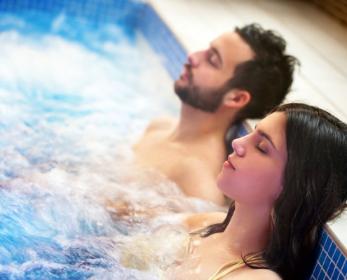 Hot Tubs for Aches and Pain Relief - Emerald Spa and Billiards of Grand Rapids, MI emeraldleisuresource.com