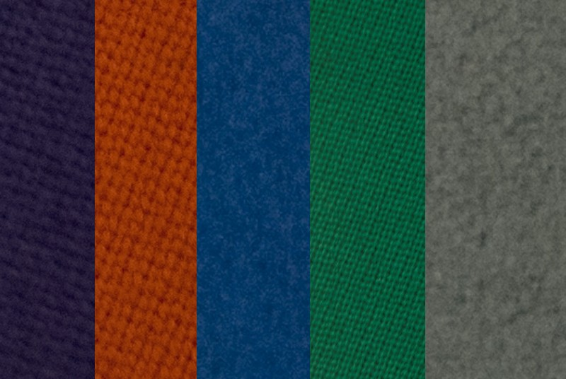 Olhausen Pool Table Cloth Options at Emerald Spa and Billiards in Grand Rapids MI 49312