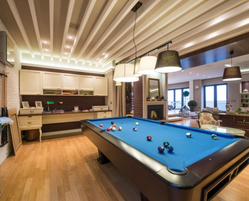 The Right Sized Pool Table for your Home - EmeraldLeisureSource.com