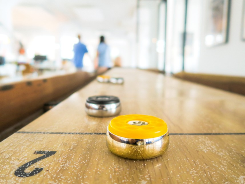 Add a Shuffleboard Table to Your Game Room - EmeraldLeisureSource.com