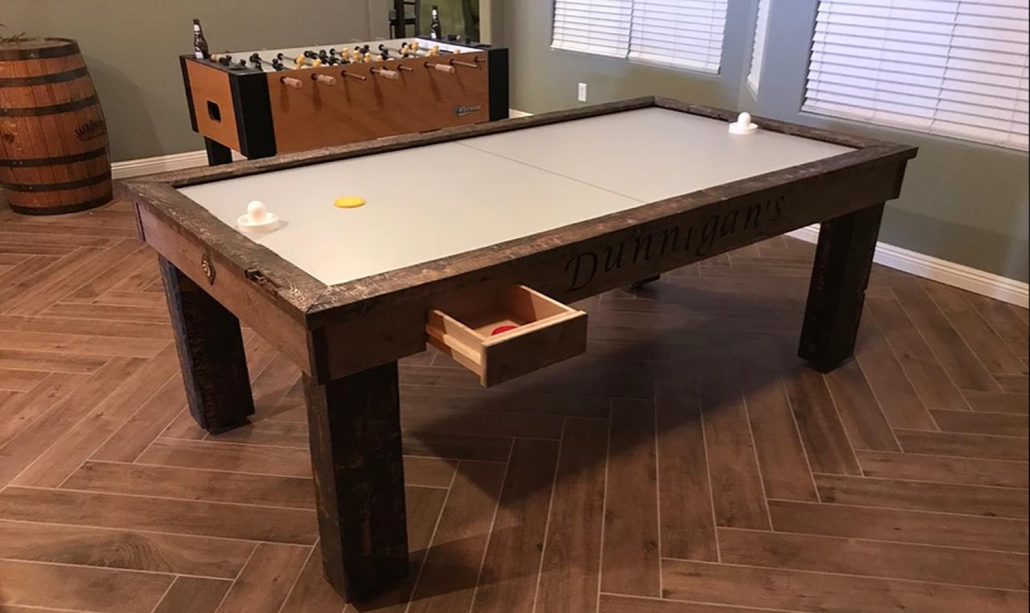 Air Hockey and Foosball Tables by Performance Games are at Emerald Spa and Billiards in Grand Rapids MI - EmeraldLeisureSource.com