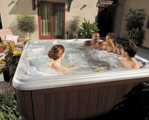 Make Your Hot Tub Last Longer Hot Tub Landscaping Tips from Emerald Spa and Billiards of Grand Rapids, MI 49512
