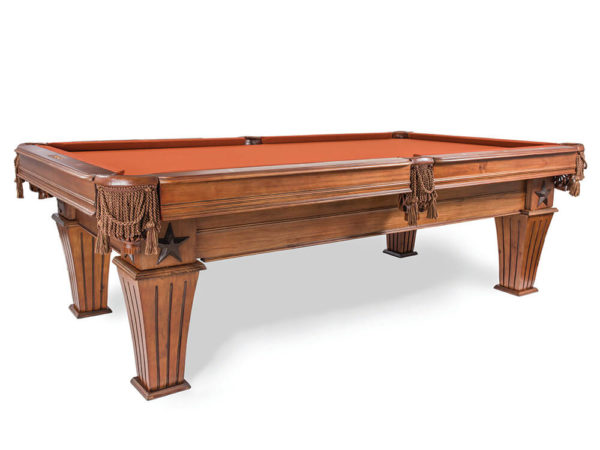 Presidential Pool Table, Brittany Model with Cinnamon Color Felt - EmeraldGR.com