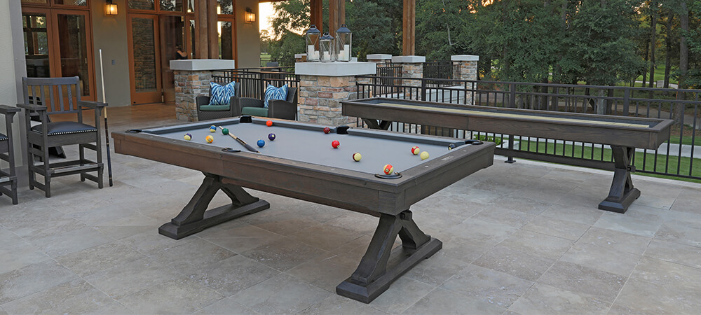 Presidential Pool Table Construction - EmeraldGR.com
