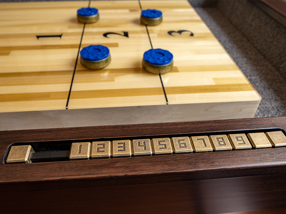 Presidential Shuffleboard Tables Available at Emerald Billiards in Grand Rapids MI - EmeraldGR.com