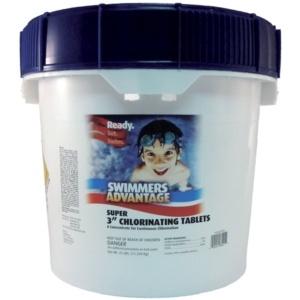 "Swimmers Advantage 25 lb 3"" Stabilized Chlorine Tablets in Grand Rapids MI at Emerald Spas & Billiards - EmeraldGR.com"