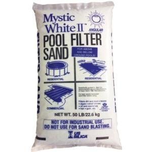 Mystic White 50 lb Filter Sand in Grand Rapids, MI - Emerald Spa and Billiards