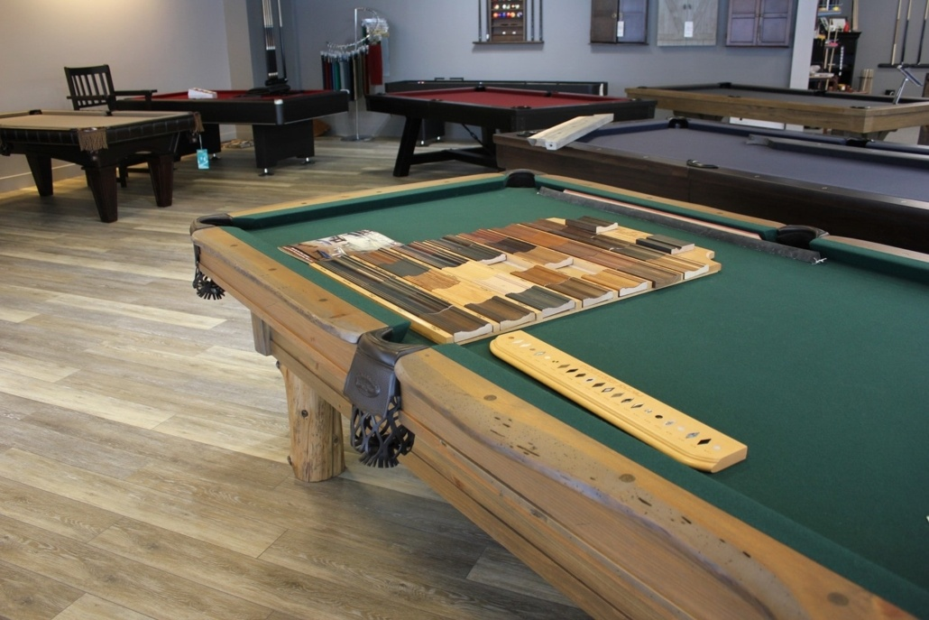 Hundreds of Pool Table Finish Options - EmeraldGR.com